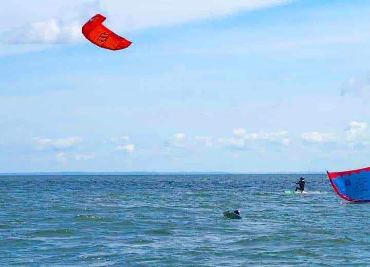 Kitesurf à Houlgate