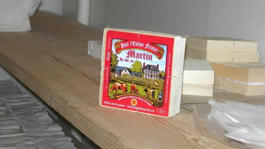 Pont l'évèque fromage
