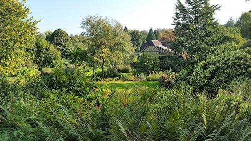 chambre hotes normandie jardin cambremer