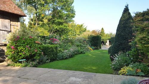 chambre hotes en normandie jardin