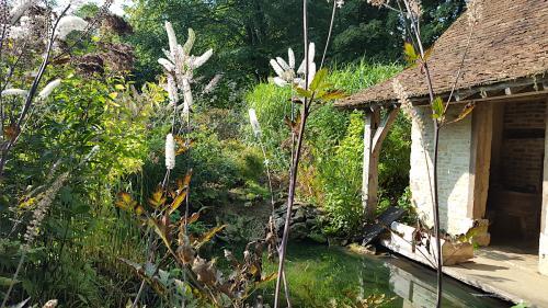 chambre hote en normandie jardin
